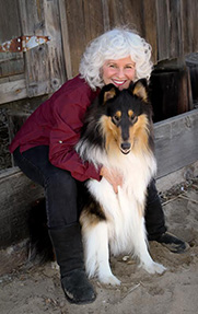 Diane and Collie